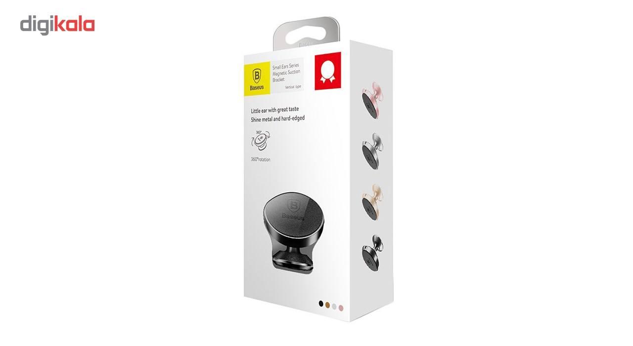 پایه نگهدارنده گوشی موبایل باسئوس مدل Small Ears کد SUER-F01 main 1 2
