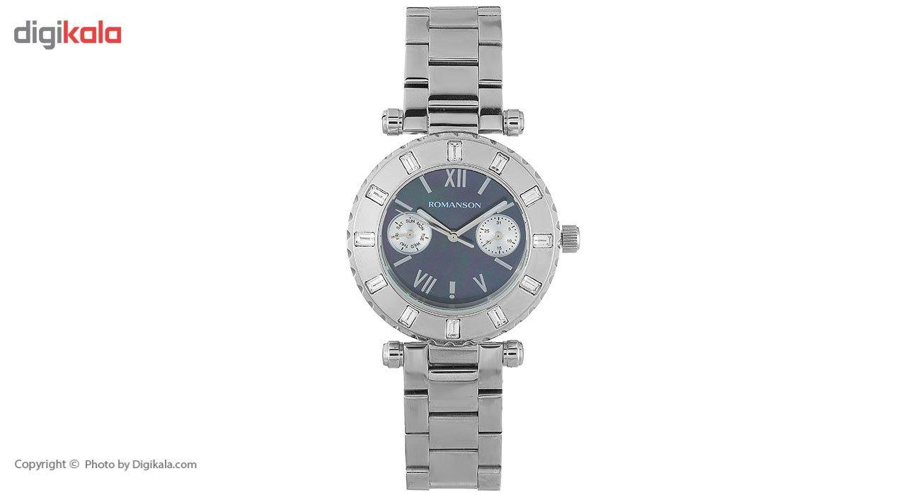 ساعت مچی عقربه ای زنانه رومانسون مدل RM0379TL1WM32W -  - 2