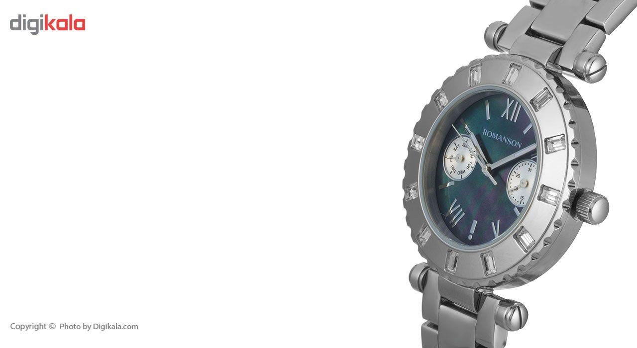 ساعت مچی عقربه ای زنانه رومانسون مدل RM0379TL1WM32W -  - 4