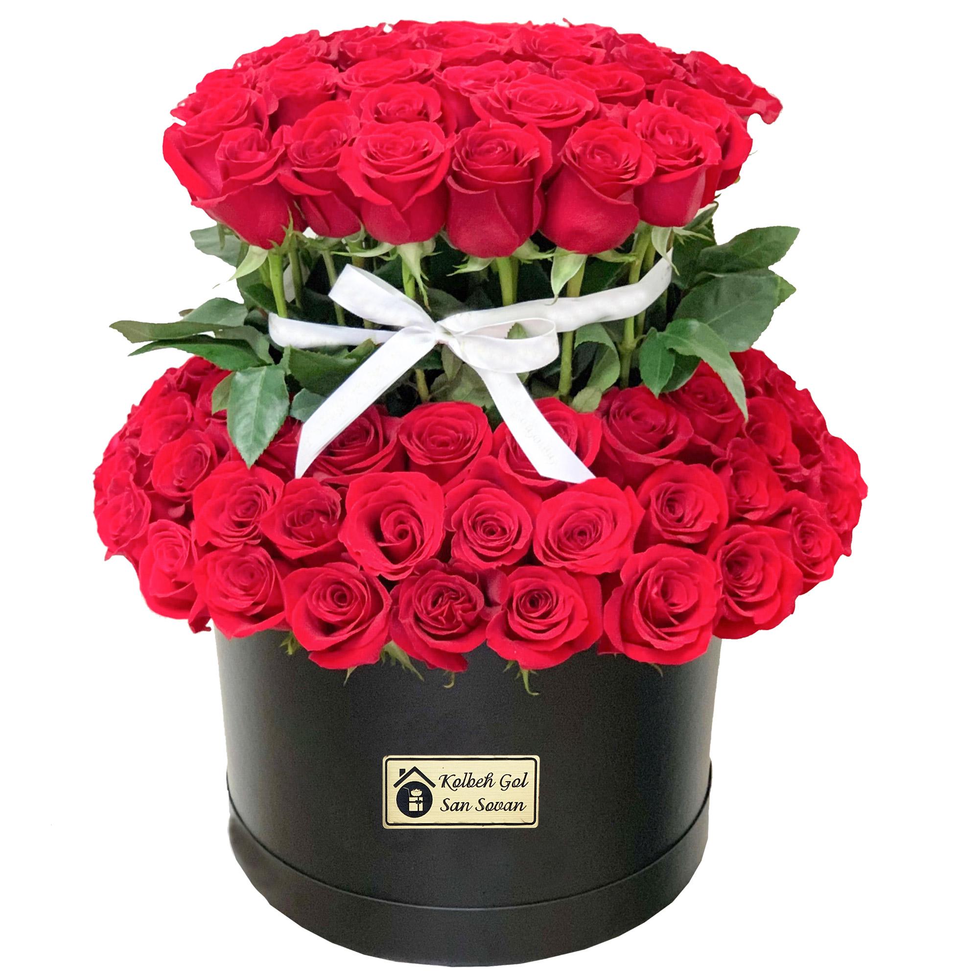 جعبه گل رز کد BX-22105