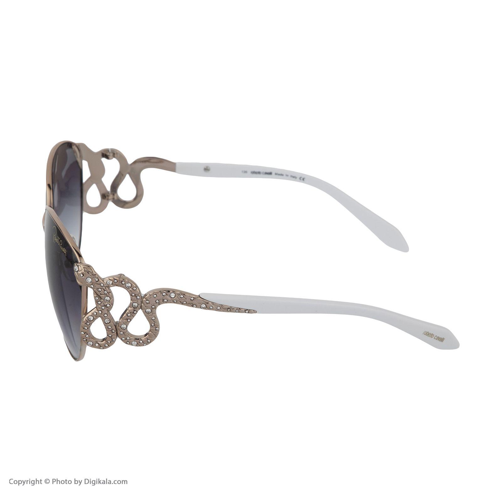 عینک آفتابی زنانه روبرتو کاوالی مدل 897 -  - 5