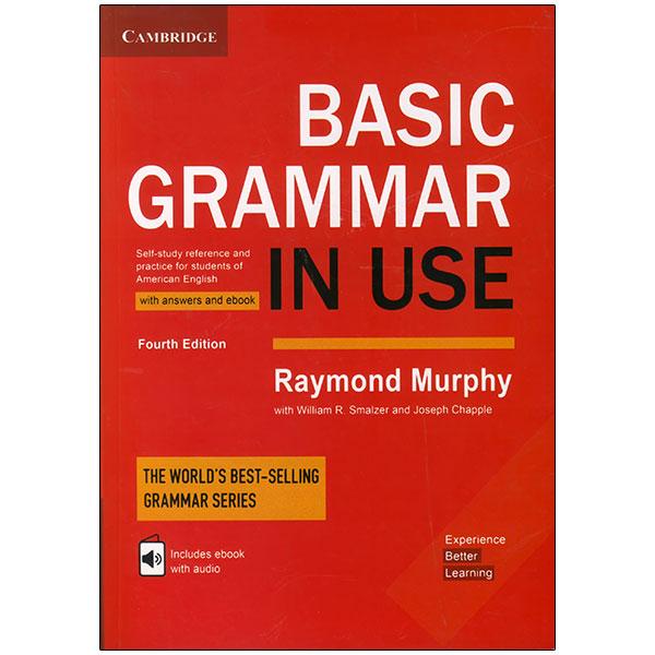 خرید                       کتاب Basic Grammar In Use Fourth Edition اثر جمعی از نویسندگان انتشارات زبان مهر