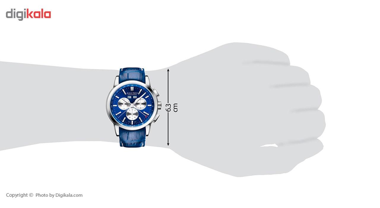ساعت مچی عقربه ای مردانه آلبرت ریله مدل 704GQ07-SS63I-LT-K1
