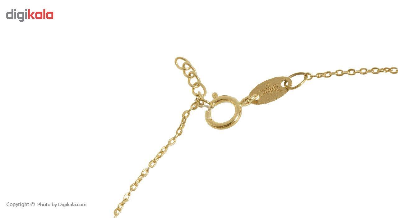 دستبند طلا 18 عیار ماهک مدل MB0287 - مایا ماهک -  - 1
