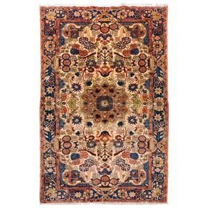 فرش دستبافت قدیمی چهار متری سی پرشیا کد 102205