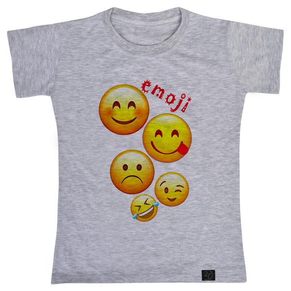 تی شرت پسرانه 27 طرح EMOJI کد H10