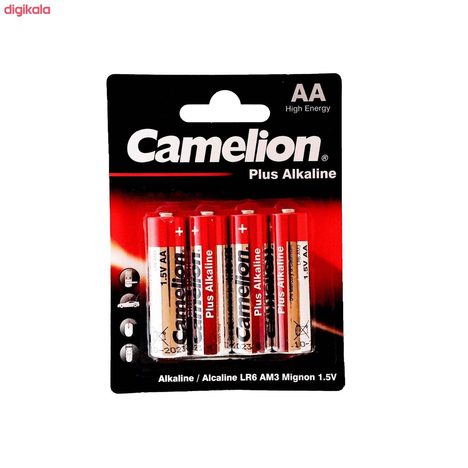 باتری قلم و نیم قلمی کملیون مدل Plus Alkaline محموعه 8 عددی main 1 2
