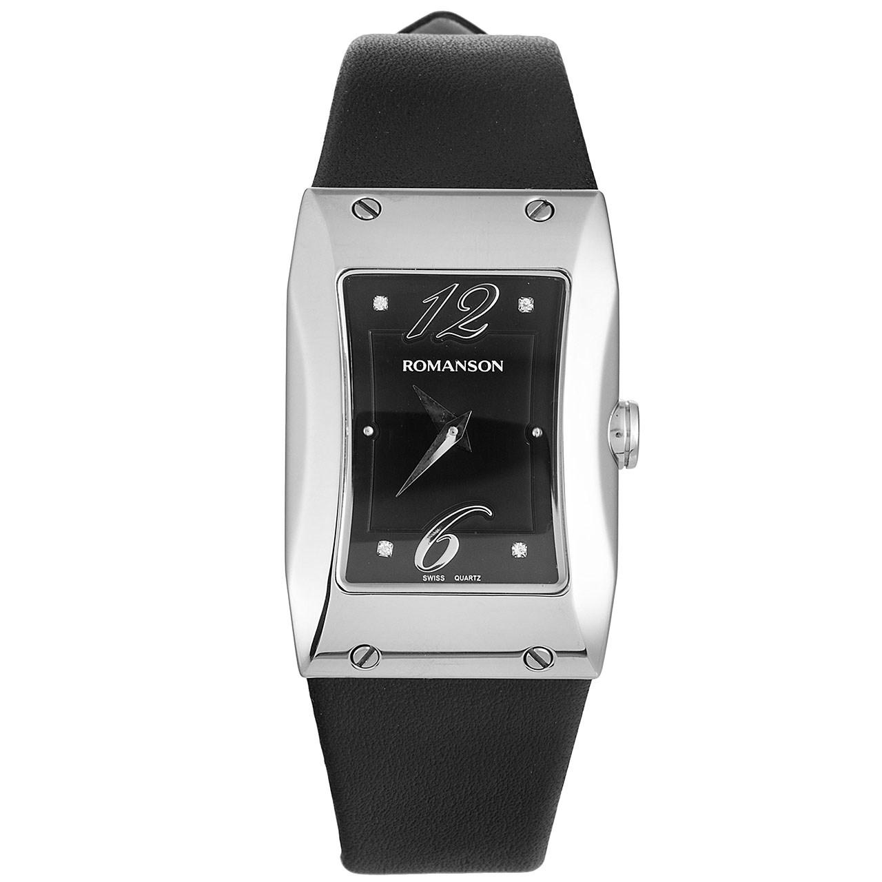 ساعت مچی عقربه ای زنانه رومانسون مدل RL0359LL1WA32W