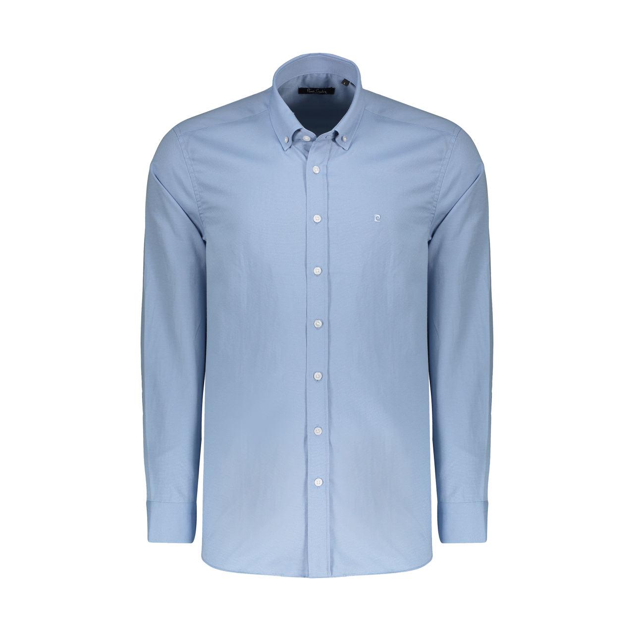 پیراهن آستین بلند مردانه پیر کاردین مدل pc558