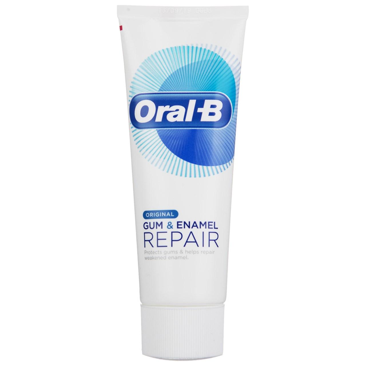 قیمت خمیر دندان اورال بی سری Gum And Enamel Repair مدل Original حجم 75 میلی لیتر