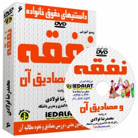 ویدیو آموزشی نفقه و مصادیق آن به روایت محمدرضا فولادی