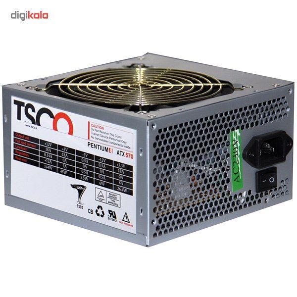 منبع تغذیه کامپیوتر تسکو مدل TP 570W main 1 1