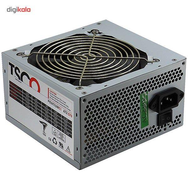 منبع تغذیه کامپیوتر تسکو مدل TP 570W main 1 2