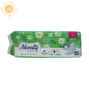 نوار بهداشتی بالدار ناولتی مدل Classic3 سایز بزرگ بسته 10 عددی