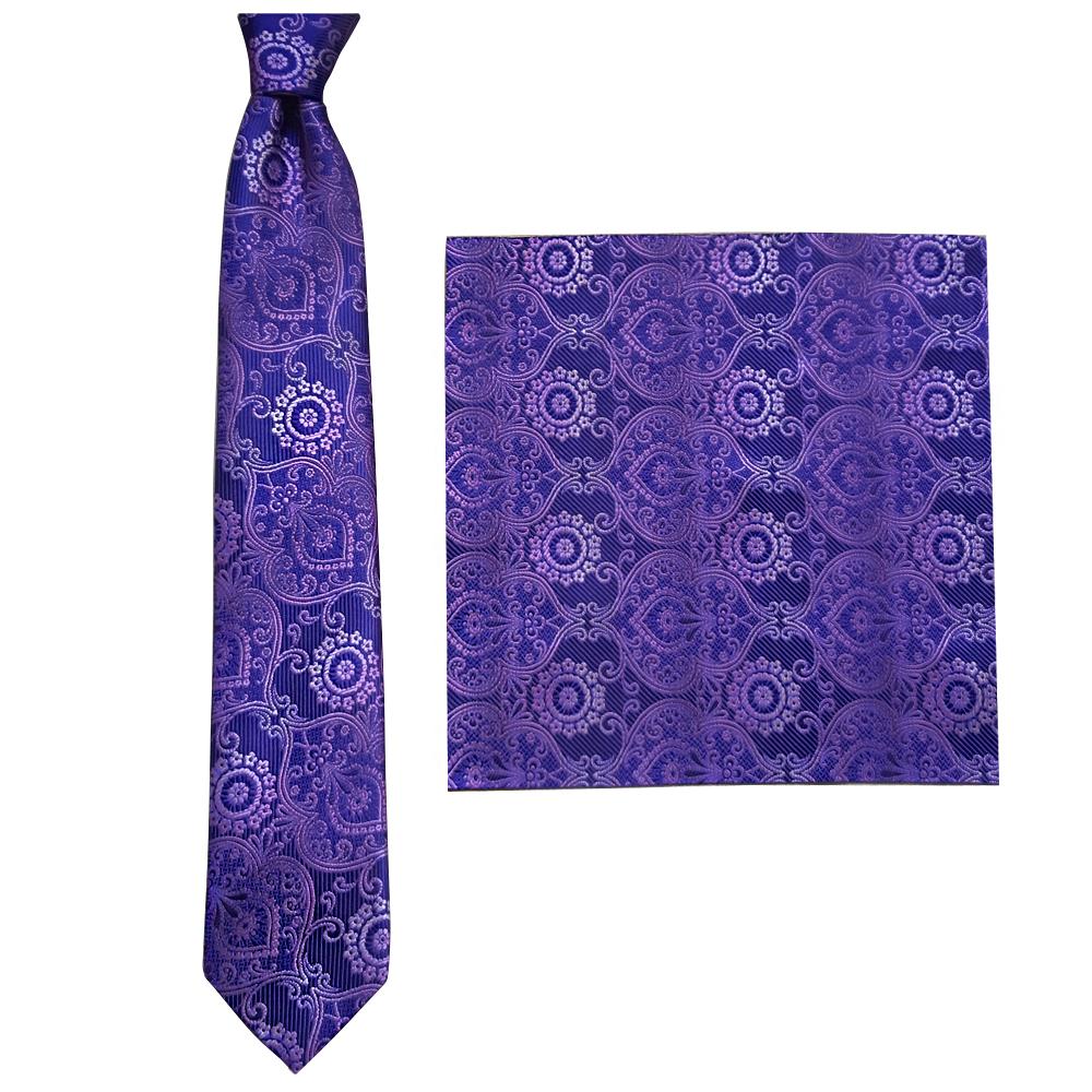 ست کراوات و دستمال جیب مردانه کوئسته مدل BF-008
