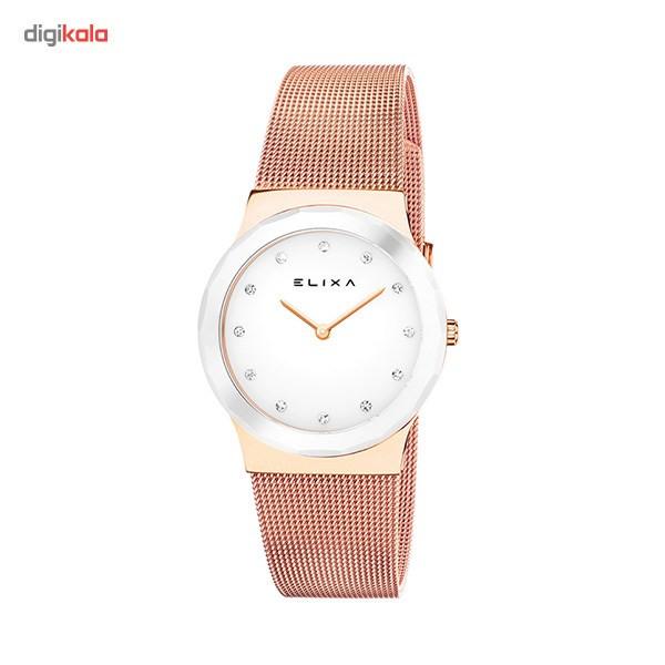 ساعت مچی عقربه ای زنانه الیکسا مدل E101-L399