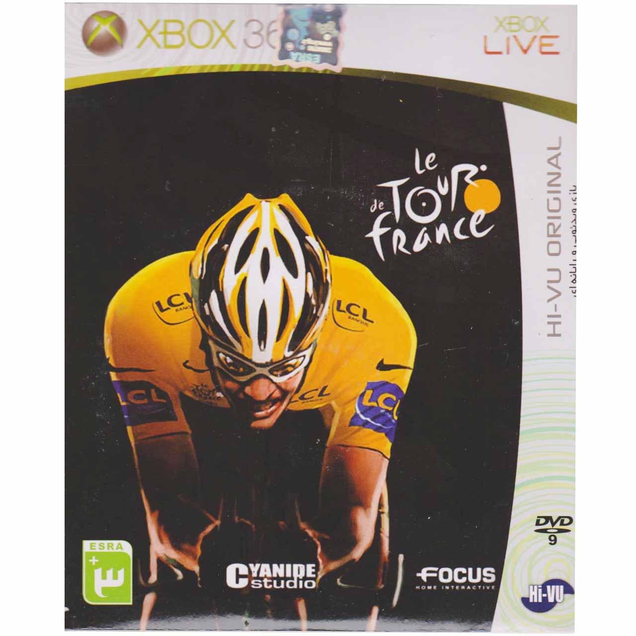 بازیِ de Tour France مخصوص ایکس باکس 360