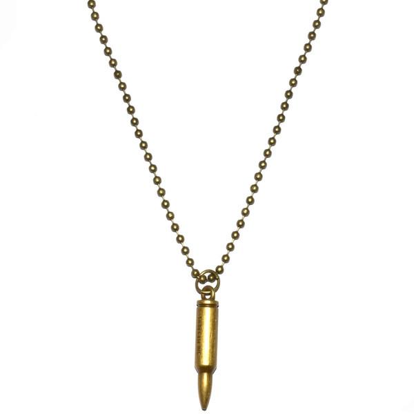گردنبند ویولا مدل Metal Bullet 03