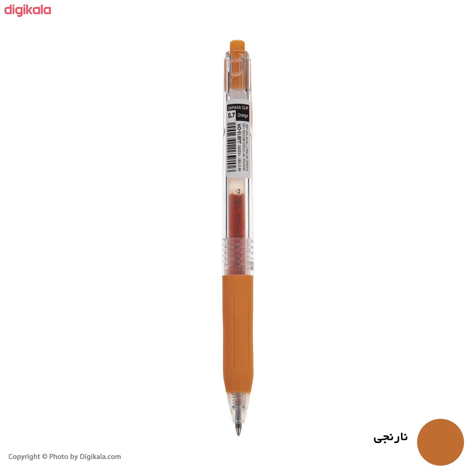 روان نویس زبرا مدل Sarasa Clip با قطر نوشتاری 0.7 main 1 5