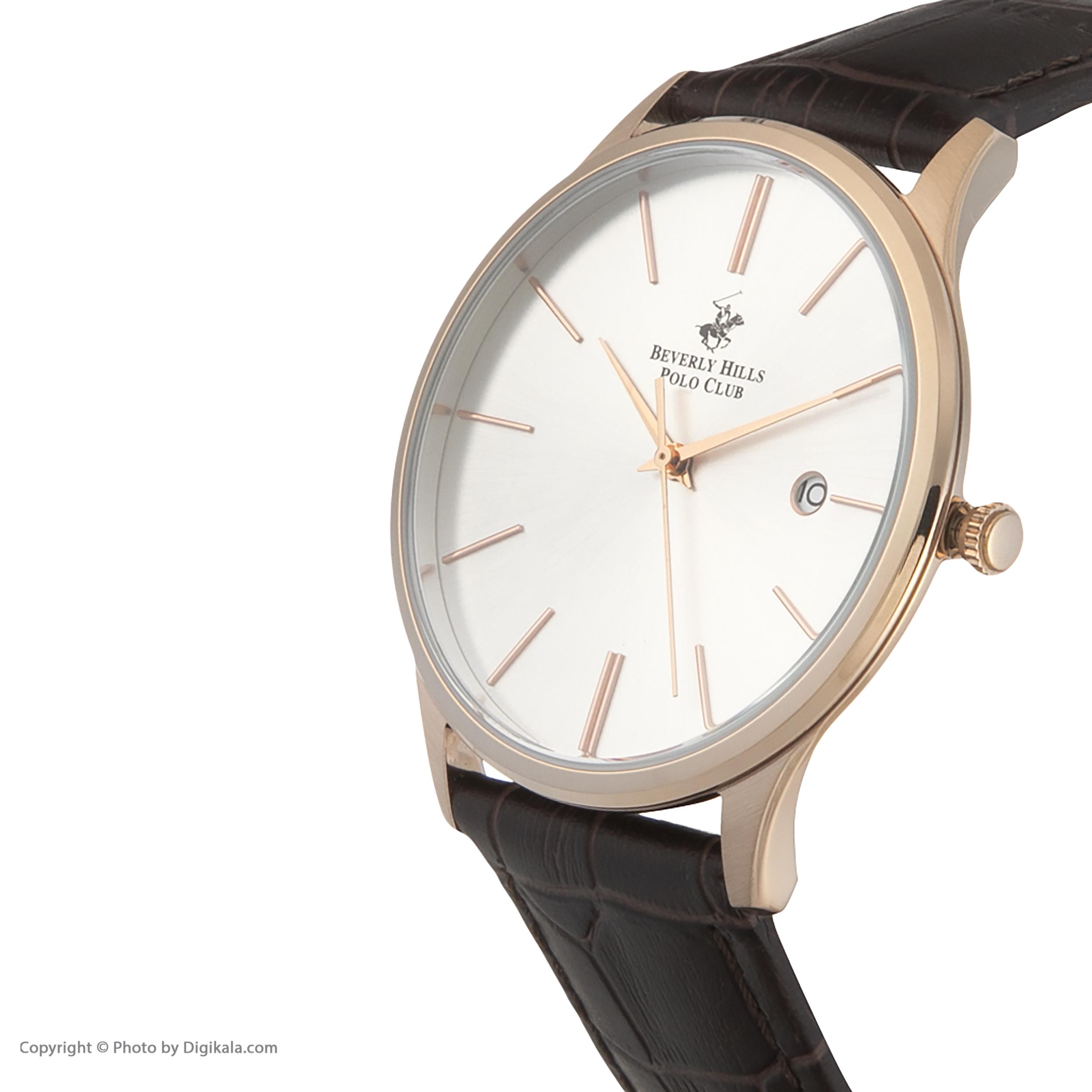 ساعت مچی عقربهای مردانه بورلی هیلز پولو کلاب مدل BP3045X.432