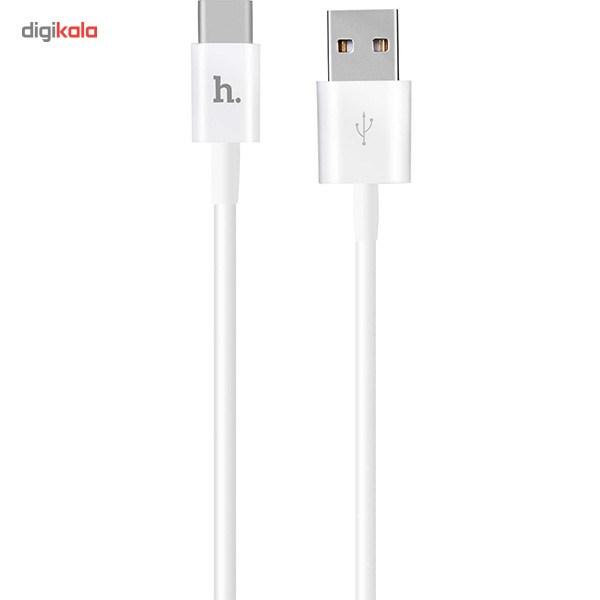 کابل تبدیل USB به USB-C هوکو مدل UPT02 به طول 1.2 متر