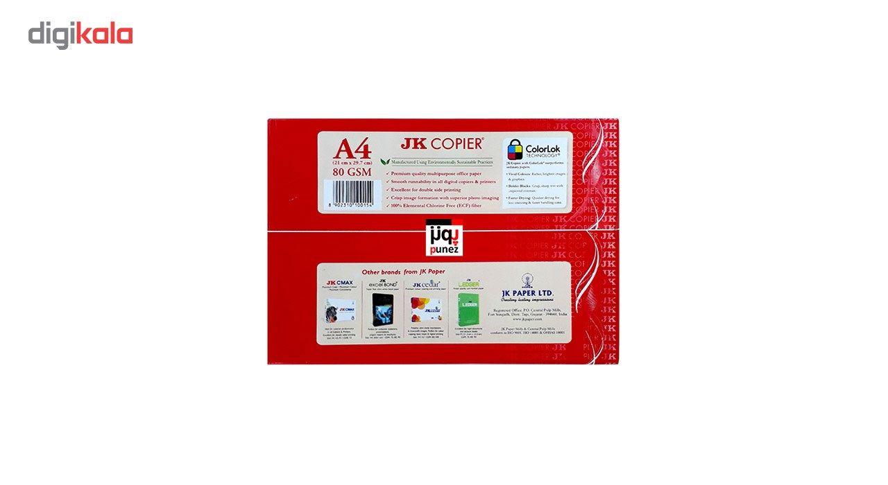 کاغذ JK Copier سایز A4 مدل پونز بسته 500 عددی main 1 1