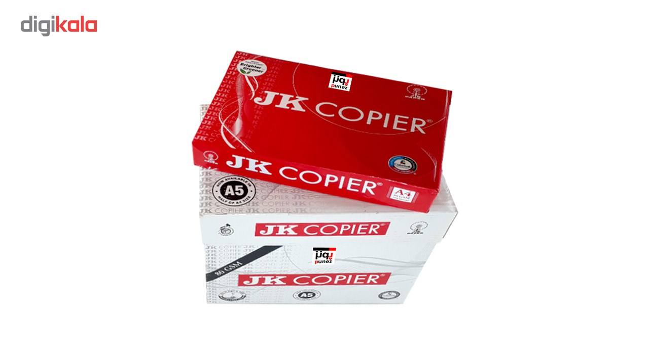 کاغذ JK Copier سایز A4 مدل پونز بسته 500 عددی main 1 4