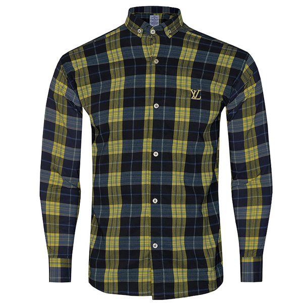 پیراهن آستین بلند مردانه مدل 344004510 غیر اصل