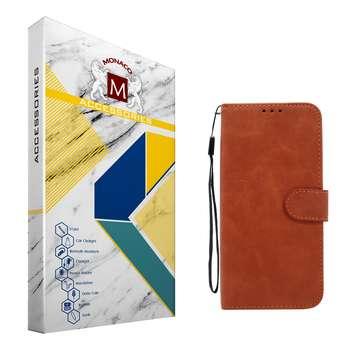 کیف کلاسوری موناکو مدل MC056 مناسب برای گوشی موبایل هوآوی Y6 Prime 2019 / Y6 2019