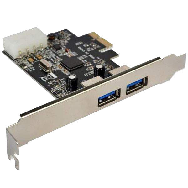 هاب USB 3.0 دو پورت PCI-E ویپرو مدل V02