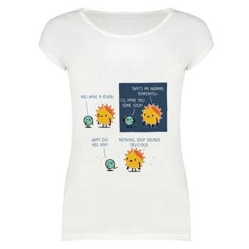 تی شرت زنانه مدل  SKH0005-000153