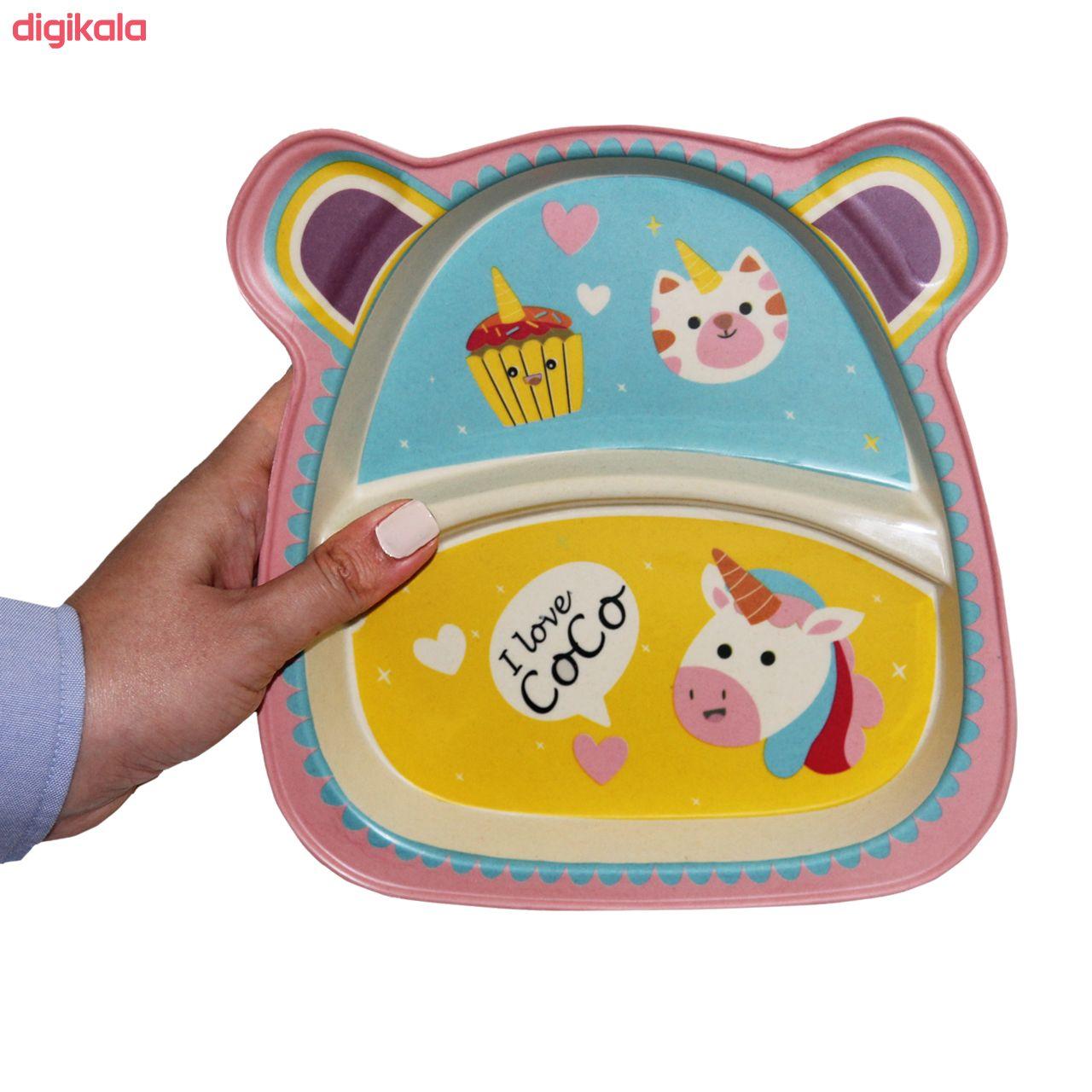 ظرف غذای 5 تکه کودک کوکو طرح Unicorn main 1 1