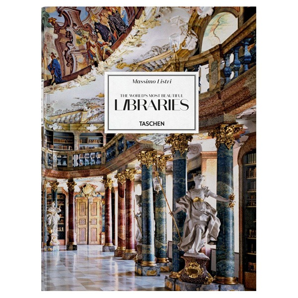 کتاب Massimo Listri The Worlds Most Beautiful Libraries اثر  Georg Ruppelt نشر TASCHEN