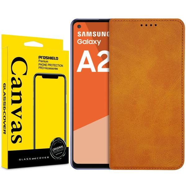 کیف کلاسوری کانواس مدل SIGNATURE مناسب برای گوشی موبایل سامسونگ Galaxy A21S