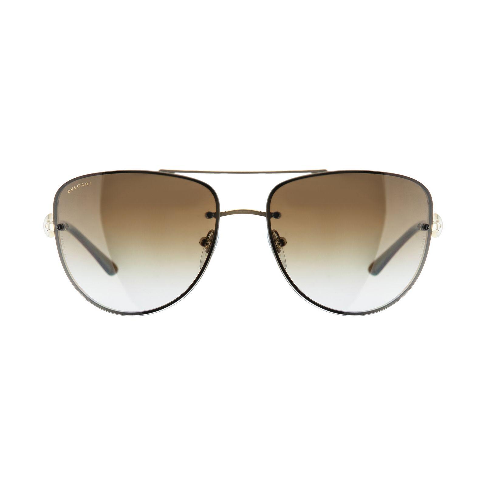 عینک آفتابی مردانه بولگاری مدل BV6086B 0278T5 -  - 2