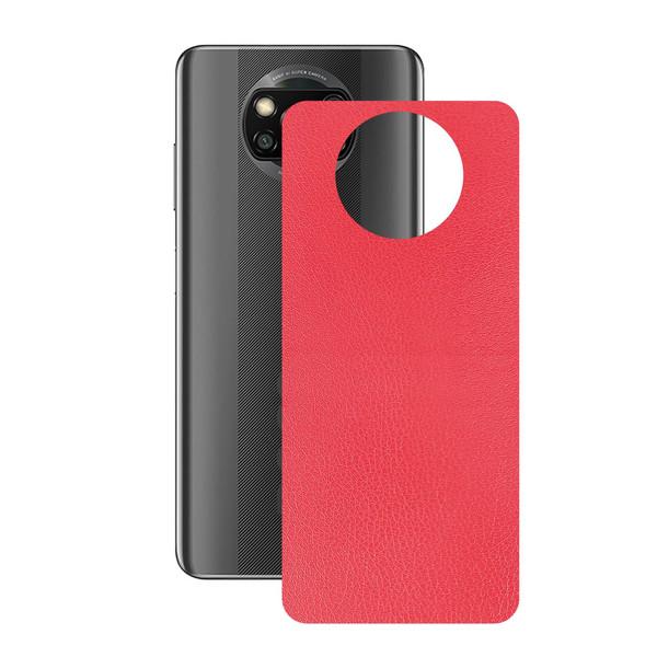 برچسب پوششی راک اسپیس طرح  Leather-RD مناسب برای گوشی موبایل  شیائومی POCO X3 Pro
