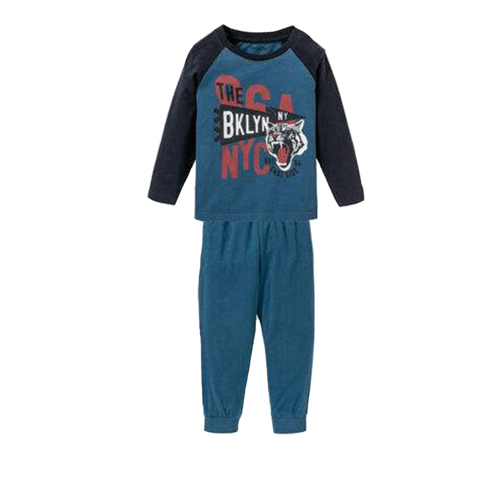 ست تی شرت و شلوار پسرانه لوپیلو کد 307098 -  - 2