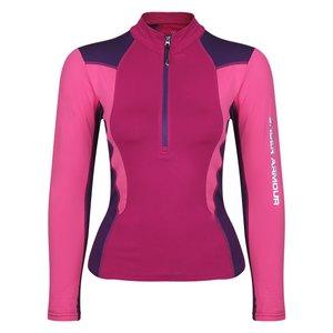 تی شرت آستین بلند ورزشی زنانه آندر آرمور مدل UN-8693
