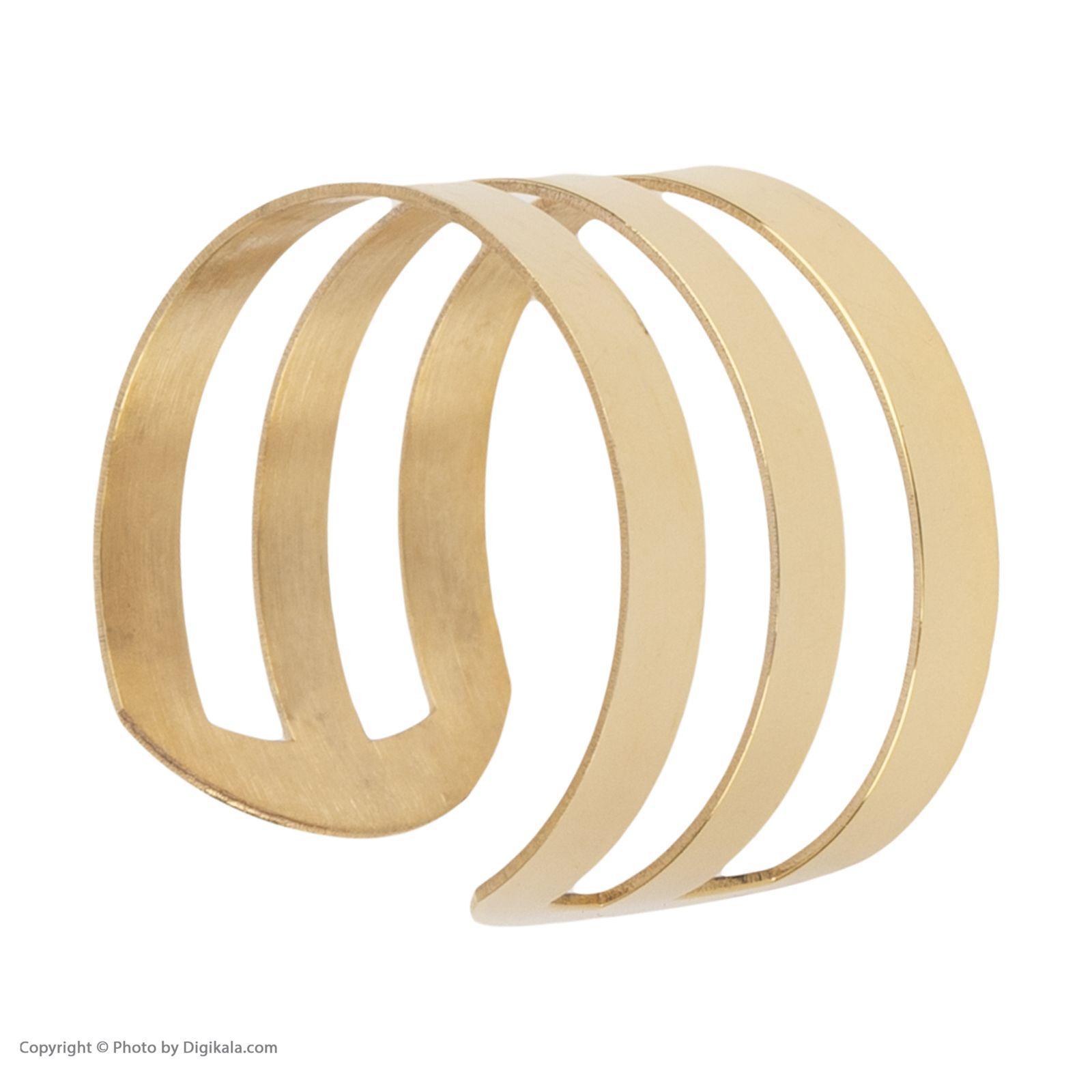 انگشتر طلا 18 عیار زنانه نیوانی مدل NR031 -  - 5