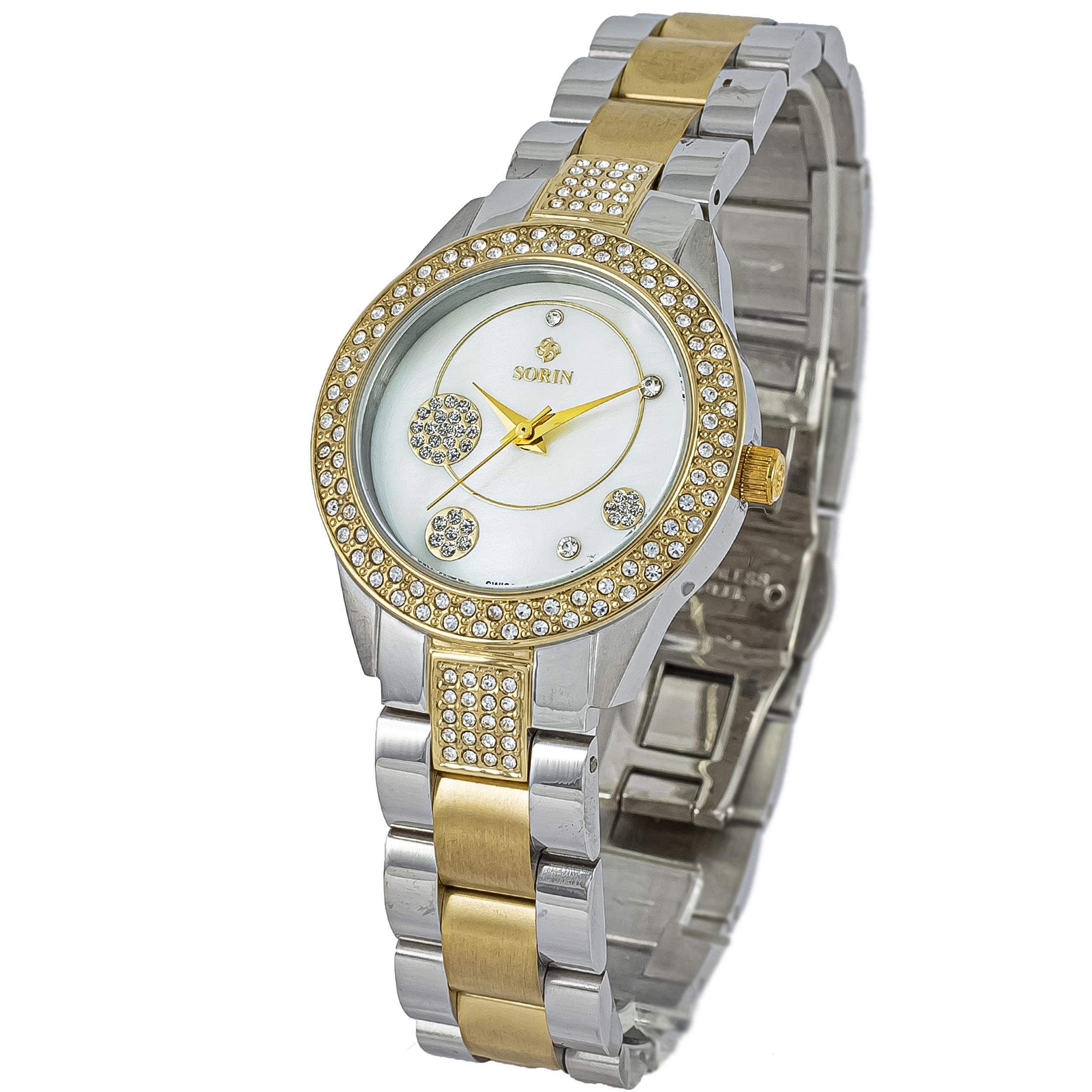 ساعت مچی عقربه ای زنانه سورین مدل SS0596L              ارزان