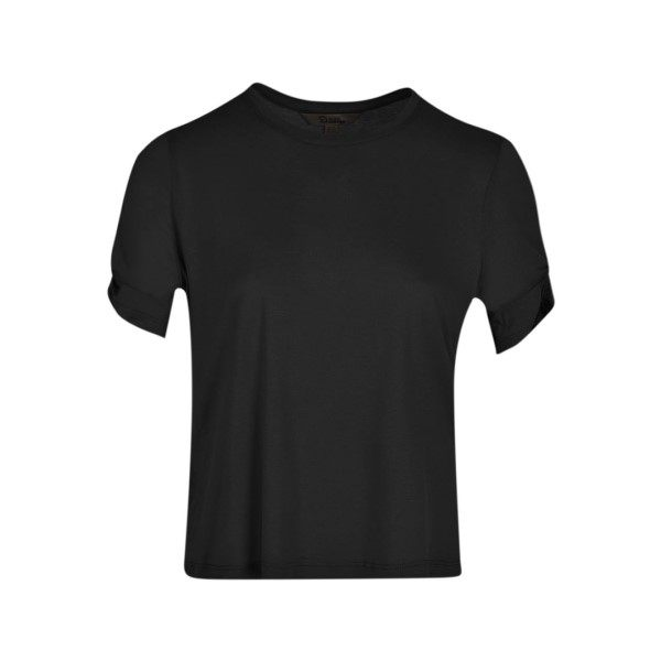 تی شرت آستین کوتاه زنانه بادی اسپینر مدل 1788 کد 1 رنگ مشکی