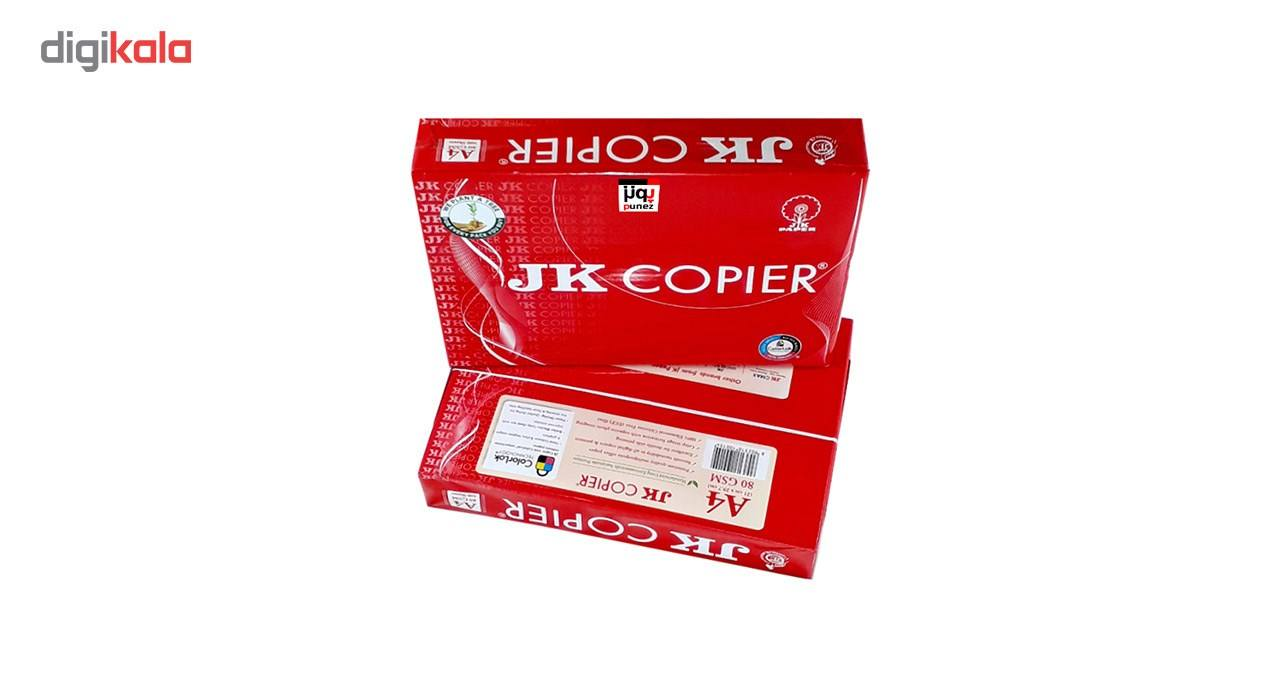 کاغذ JK Copier سایز A4 مدل پونز بسته 500 عددی main 1 5