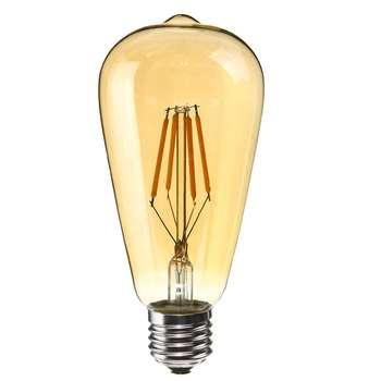 لامپ ال ای دی فیلامنتی 4 وات آمیسا کد ST64 پایه E27