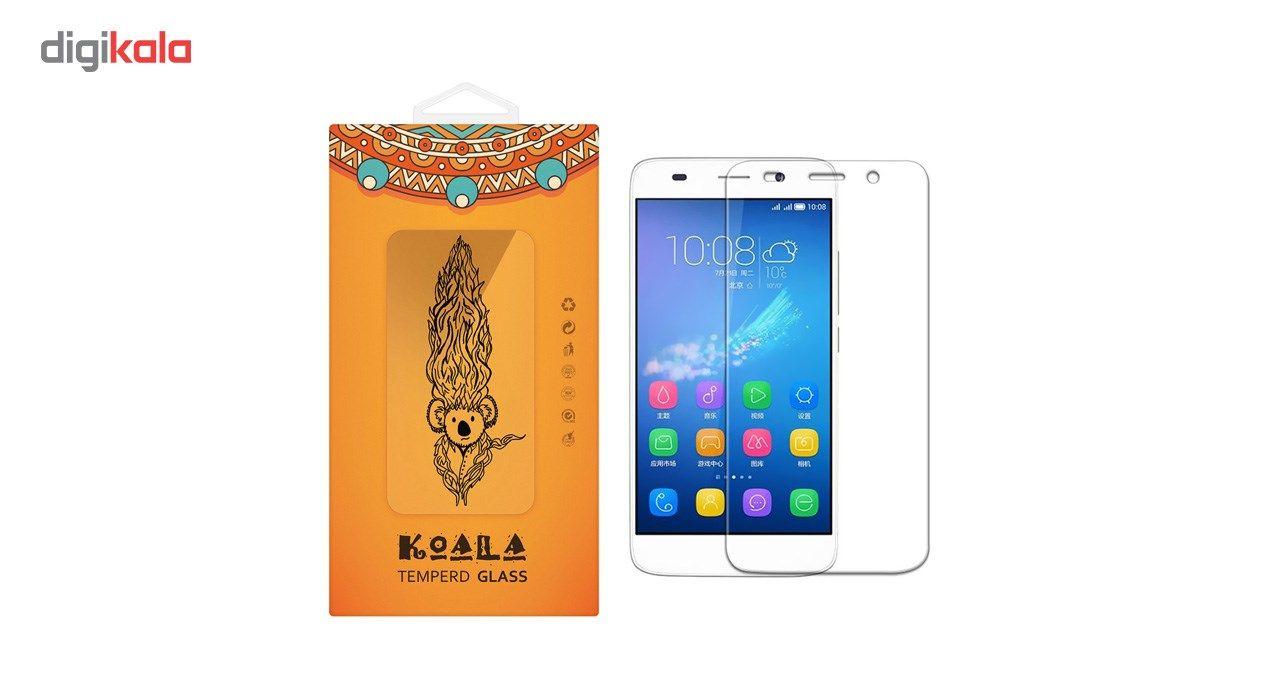 محافظ صفحه نمایش شیشه ای کوالا مدل Tempered مناسب برای گوشی موبایل هوآوی Y6 Pro main 1 1