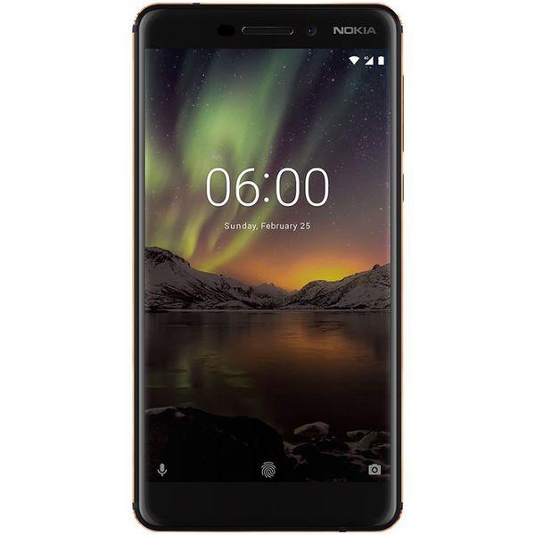 گوشی موبایل نوکیا مدل 6.1 دو سیم کارت ظرفیت 32 گیگابایت | Nokia 6.1 Dual SIM 32GB Mobile Phone