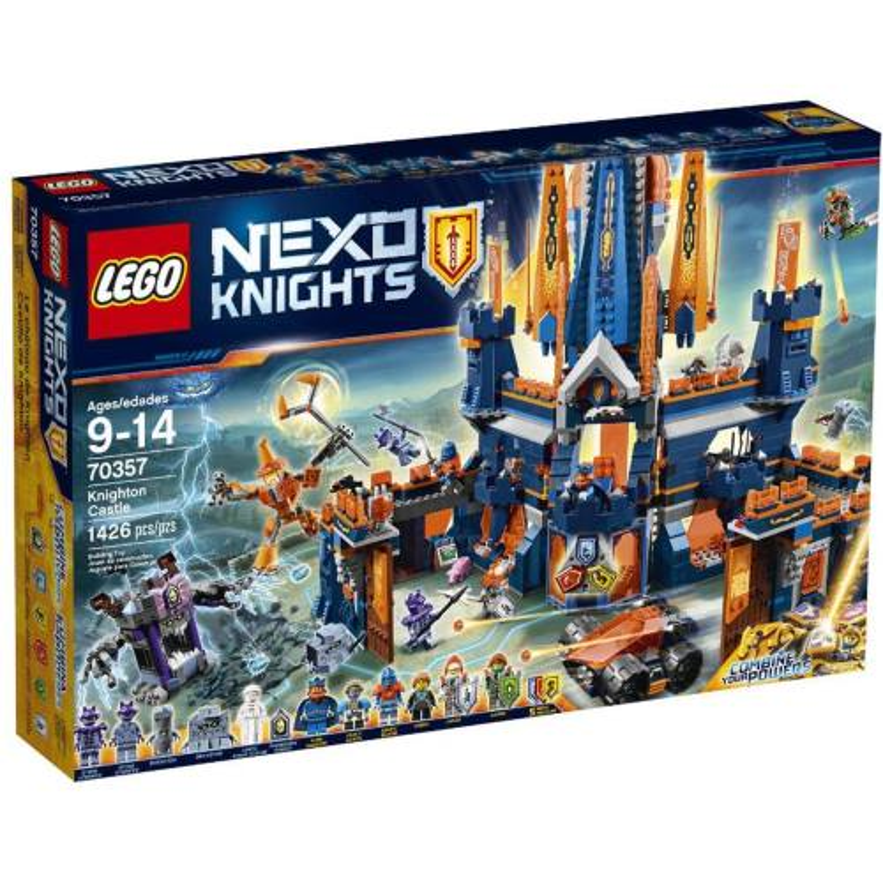 لگو سری Nexo Knights مدل Knighton Castle 70357
