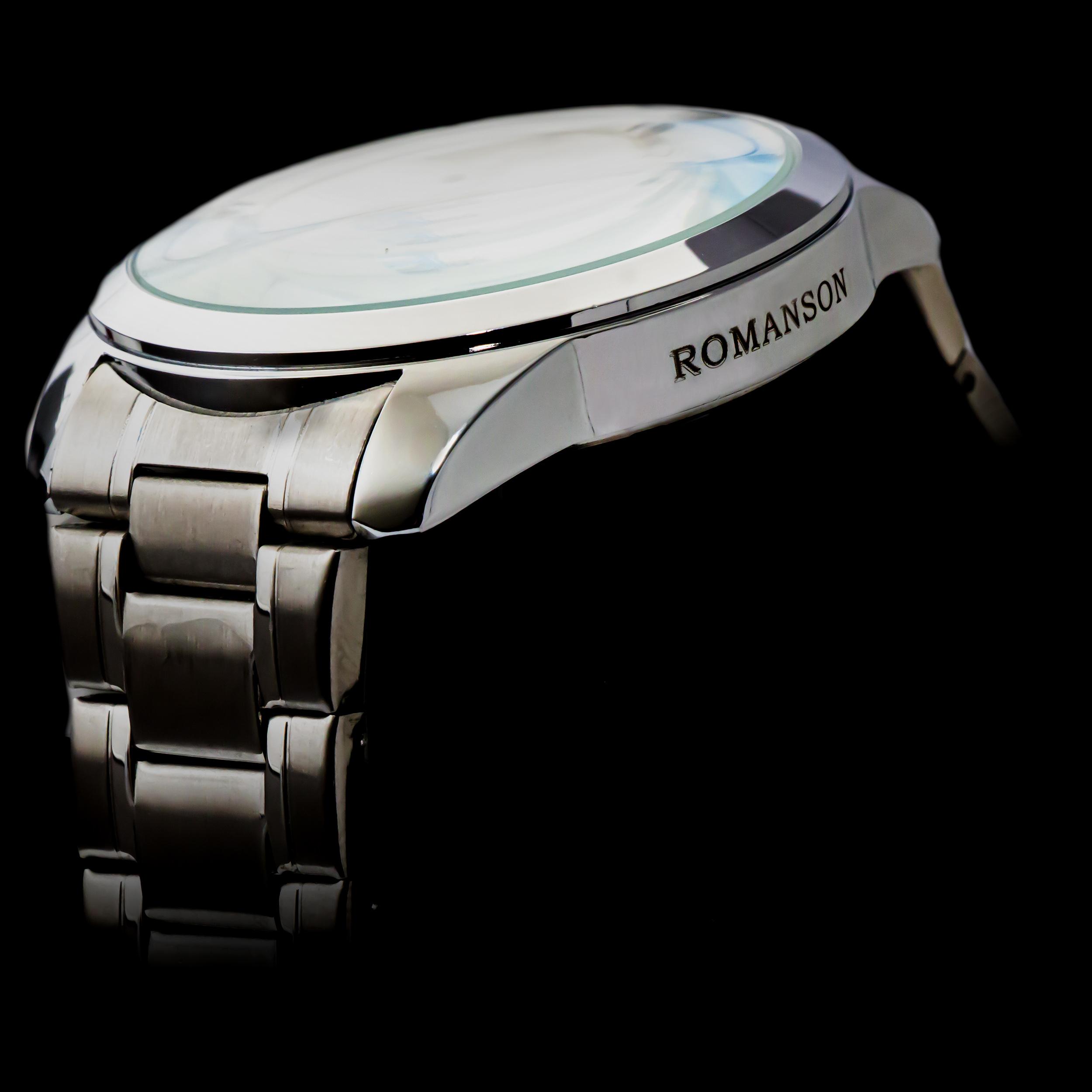 خرید                                      ست ساعت مچی عقربه ای زنانه و مردانه رومانسون مدل PB008