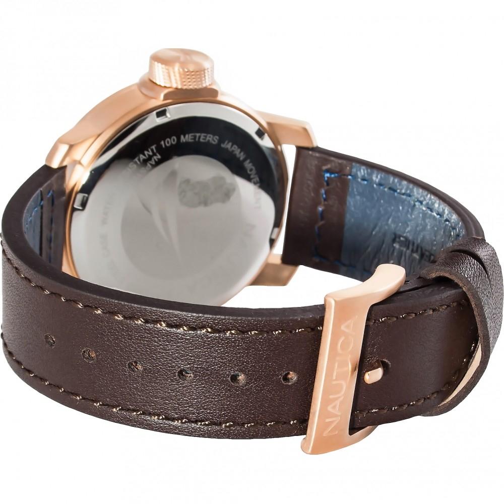 ساعت مچی عقربه ای مردانه ناتیکا مدل NAPSYD005