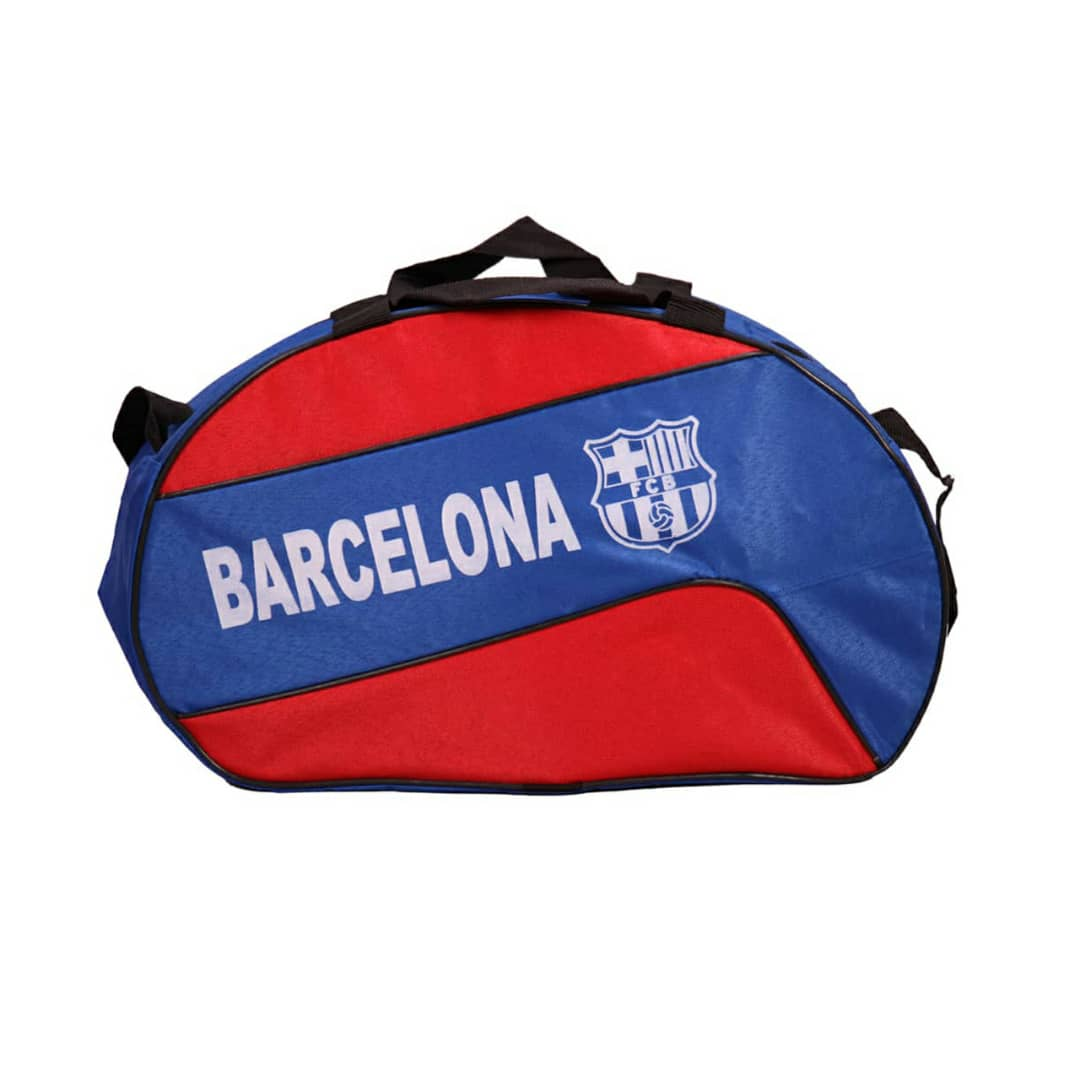 خرید                                      ساک ورزشی  طرح بارسلونا مدل m-12