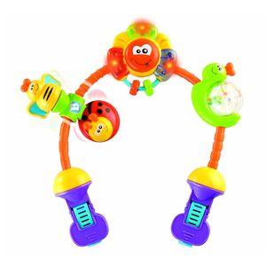 جلو کالسکه بلو باکس مدل Rainbow Stroller Activity
